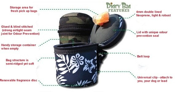 Dicky Bag Features