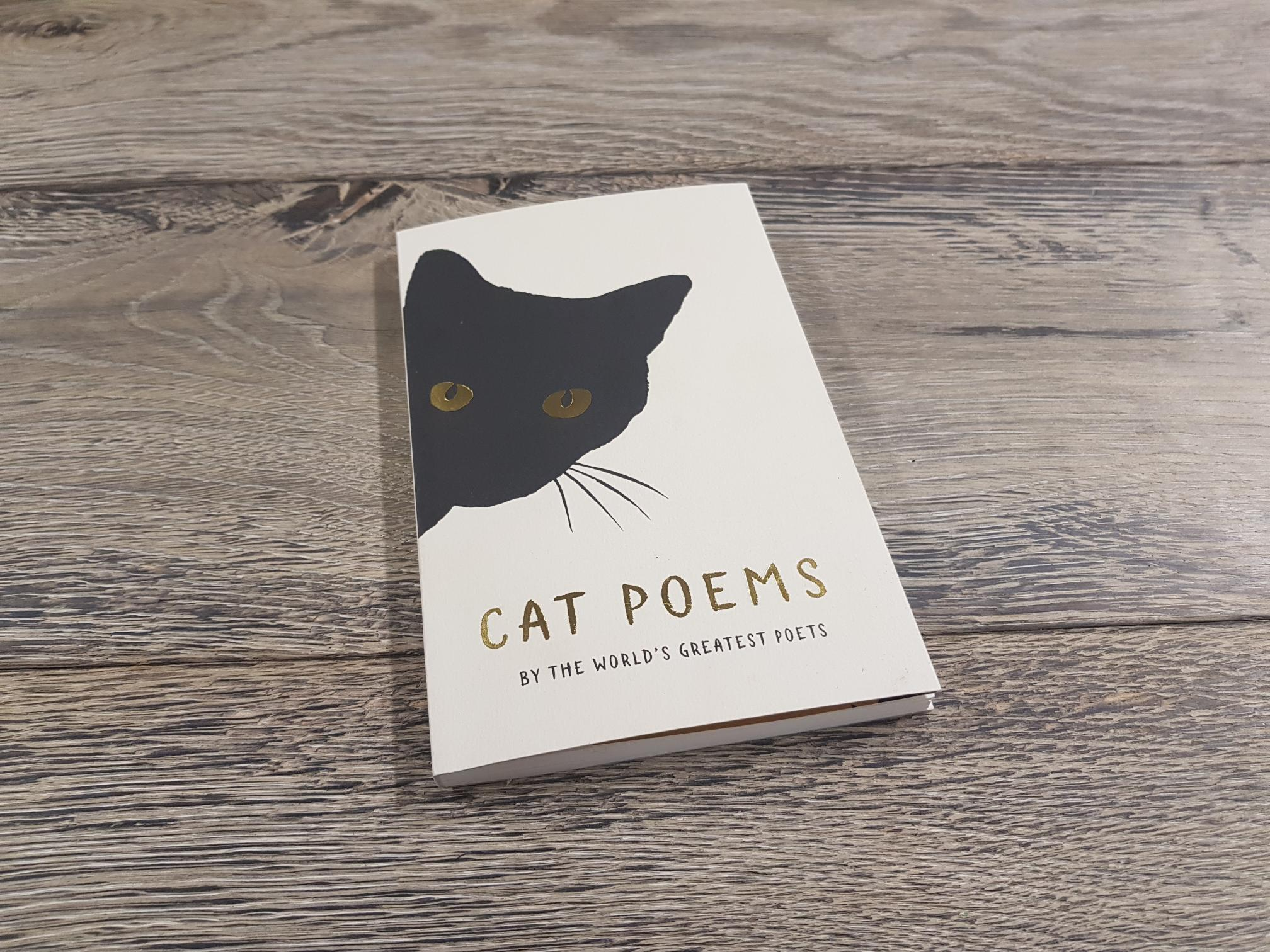 Cat Poems book cover