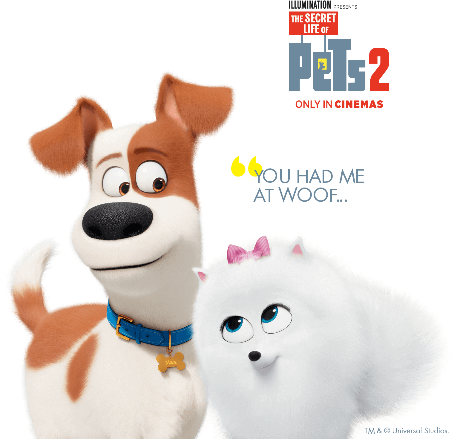The Secret Lifoe of Pets 2 - You had me at woof.