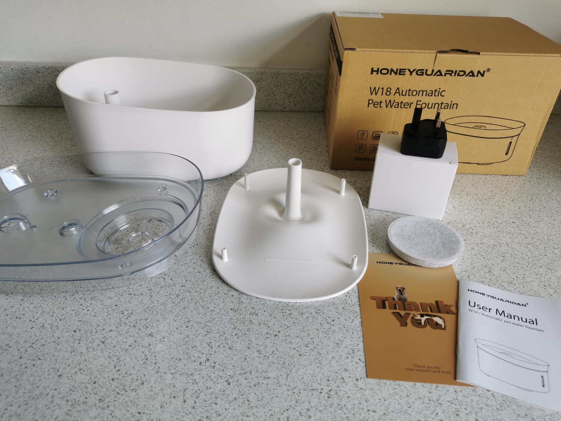 Honey Guardian Automatic Pet Water Fountain review 1