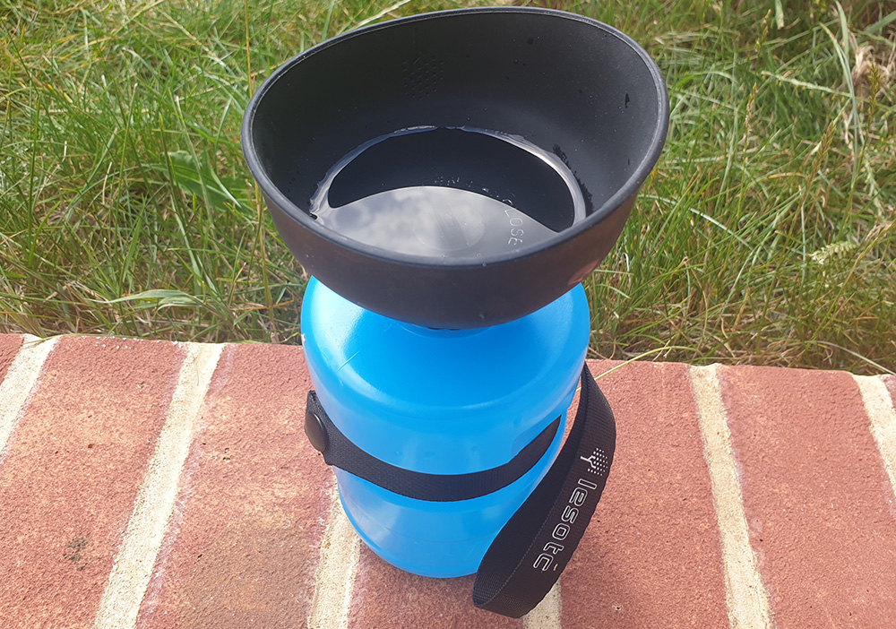 Lesotc Collapsable water bottle review 2
