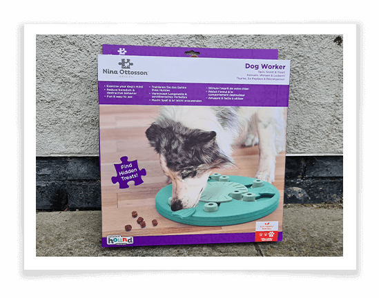 Nina Ottosson's Dog Worker Puzzle review 1