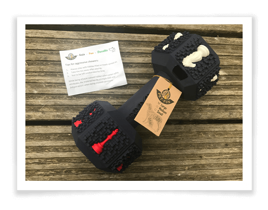 Iokheira Dog Chew Toys for Aggressive Chewers 2
