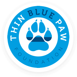 Thin Blue Paw Foundation Logo
